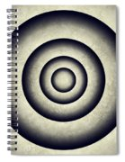 Minimal Grunge 3d Abstraction Spiral Notebook