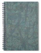 Minimal Number 3 Spiral Notebook