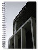 Minimalist Canterbury Spiral Notebook
