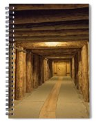 Mining Tunnel Spiral Notebook
