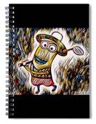 Minion 3 Spiral Notebook