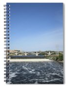 Minneapolis - Saint Anthony Falls Spiral Notebook