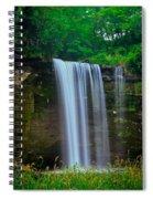 Minneopa Falls Spiral Notebook