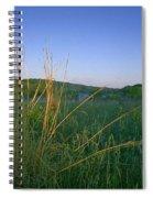 Minnesota Prairie Moon Rise Spiral Notebook