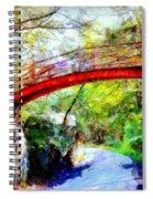 Minnewaska Wooden Bridge Spiral Notebook