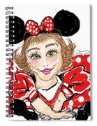 Minnie Mouse Spiral Notebook