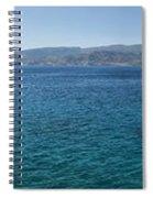 Mirabello Bay Panorama Spiral Notebook