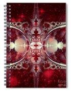 Mirror Gateway / Crop / Red Stars Spiral Notebook