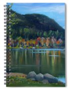 Mirror Lake In Woodstock New Hampshire Spiral Notebook