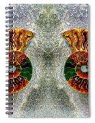 Mirrored Ammomite - 8305 Spiral Notebook