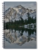 Mirrored Beauty Spiral Notebook