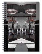 Mirrored Salon  Spiral Notebook