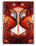 Mirrored Stairs Spiral Notebook