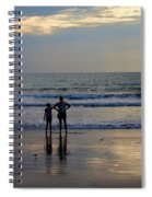 Greeting The Dawn Spiral Notebook