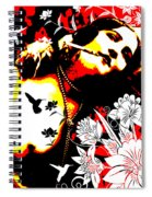Mischievious Hummingbird Spiral Notebook