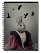 Miss Bunny And Crows Spiral Notebook