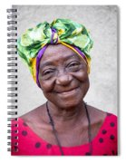 Miss Cuba Spiral Notebook
