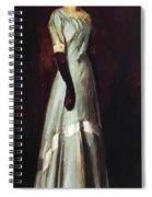 Miss Kaji Waki 1909 Spiral Notebook