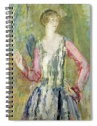 Miss Nancy Cunard Spiral Notebook