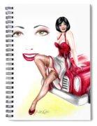 Miss Sassy Spiral Notebook