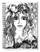 Miss Spring Spiral Notebook