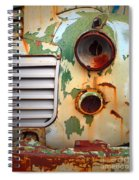 Missing Parts Spiral Notebook