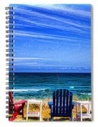 Pre-viewing   Seats Available Spiral Notebook