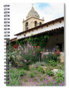 Mission Bells And Garden Spiral Notebook