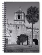 Mission Concepcion -- Bw Spiral Notebook