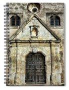 Mission Concepcion Entrance Spiral Notebook