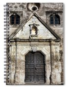 Mission Concepcion Front Spiral Notebook
