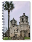 Mission Concepcion With Well And Tree Spiral Notebook