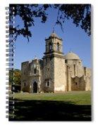 Mission San Jose Y San Miguel De Aguayo. Church. Spiral Notebook