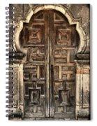 Mission Espada Door - 2 Spiral Notebook