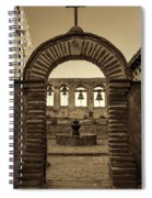 Mission Gate And Bells #2 Spiral Notebook