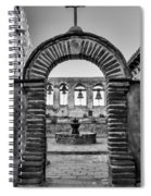 Mission Gate And Bells #3 Spiral Notebook