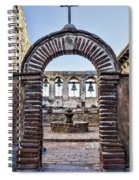 Mission Gate And Bells Spiral Notebook