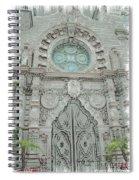 Mission Inn Chapel Door Spiral Notebook