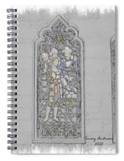 Mission Inn Chapel Stained Glass Spiral Notebook