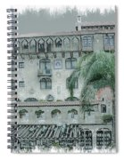Mission Inn Court Yard Spiral Notebook