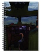 Mission Over Germany - Oil Spiral Notebook