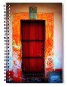 Mission Red Door Spiral Notebook