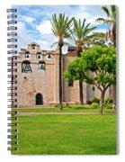 Mission San Gabriel Arcangel, San Gabriel, California Spiral Notebook