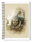 Mission San Jose Angel Spiral Notebook