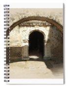 Mission San Jose Back Door Spiral Notebook