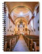 Mission San Jose Chapel Glow Spiral Notebook