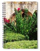 Mission San Jose' Flora Beauty Spiral Notebook