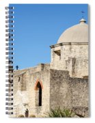 Mission San Jose Towers Spiral Notebook