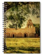 Mission San Juan Church Spiral Notebook