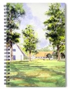 Mission San Luis Spiral Notebook